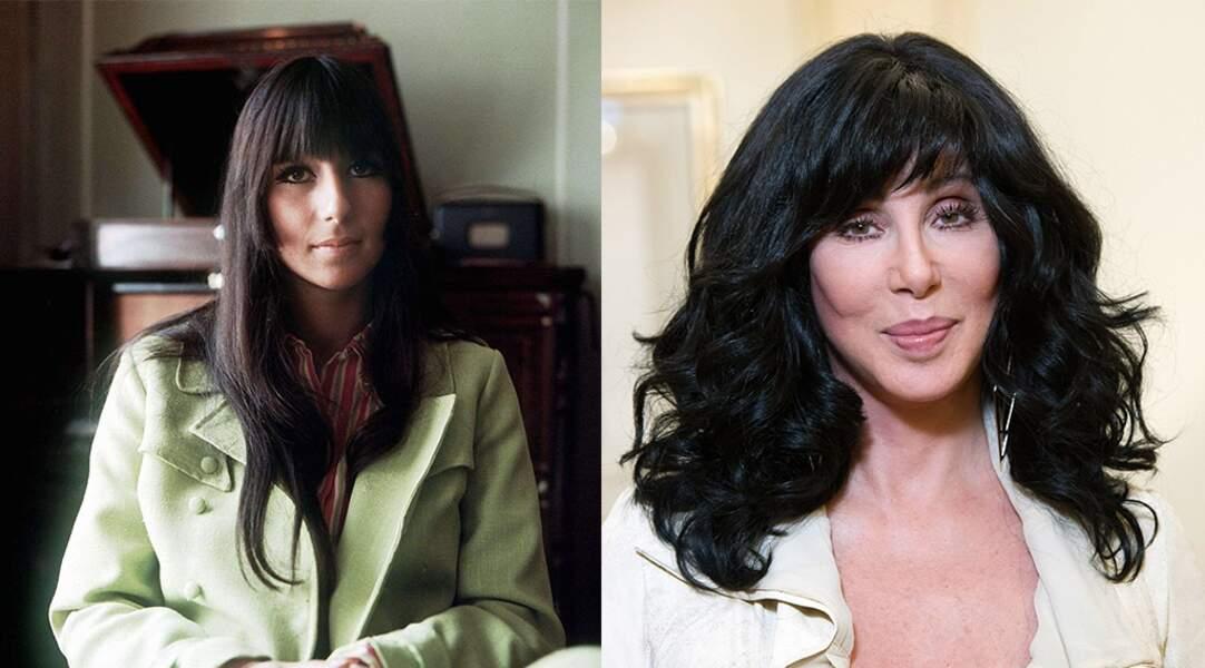 La chanteuse Cher, 73 ans.