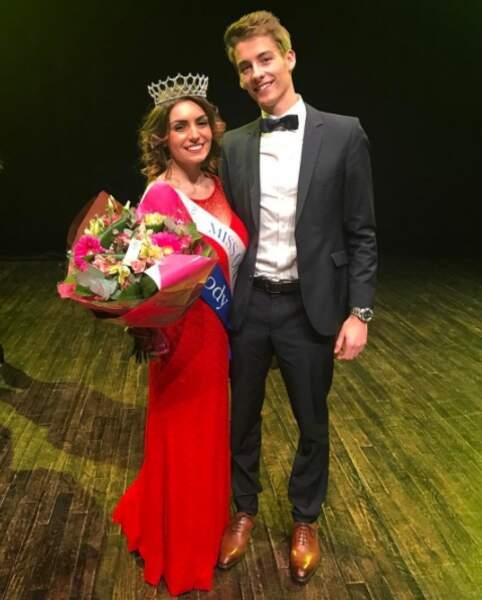 Sa chérie, Mélody, 21 ans, a été élue Miss Océane en janvier 2017