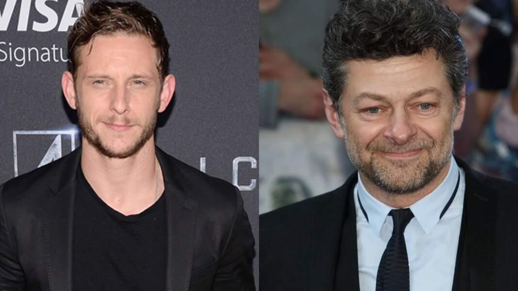 Jamie Bell et Andy Serkis, tous deux vont jouer dans l'ombre pour Spielberg