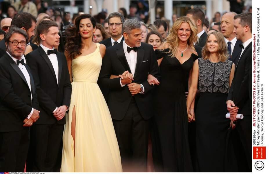 Le casting de Money Monster et Amal Alamuddin, la femme de George Clooney