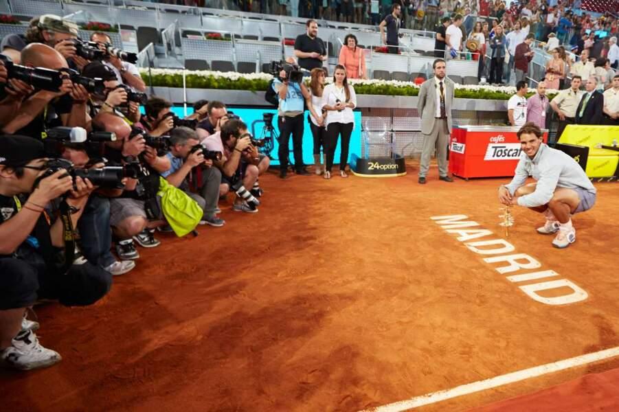 Open de Madrid : allez Rafa, fais risette à la caméra !