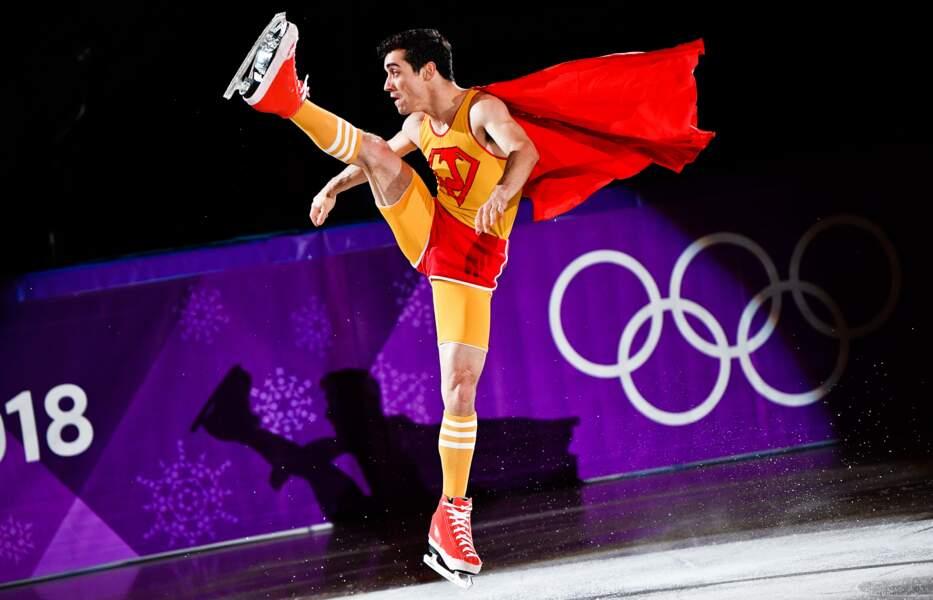 Superman on ice