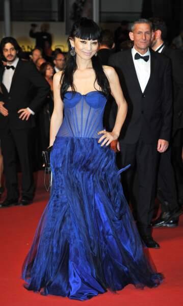 Bai Ling sur le tapis rouge de Borgman