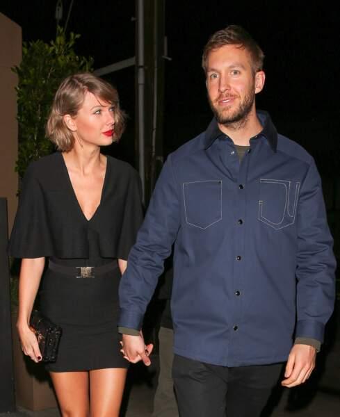 Taylor Swift et le dJ Calvin Harris, bientôt fiancés ? Leurs fans attendent leur mariage  !