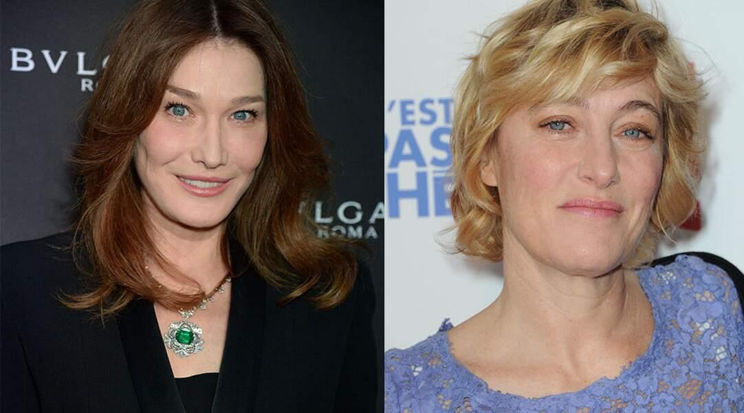 L'une est chanteuse, l'autre actrice et réalisatrice : Carla Bruni et Valeria Bruni-Tedeschi.