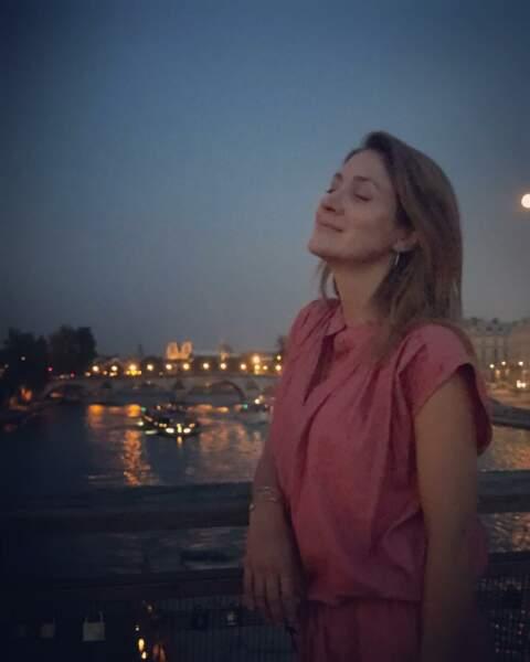 Pour ses vacances, Sasha Alexander a choisi la France