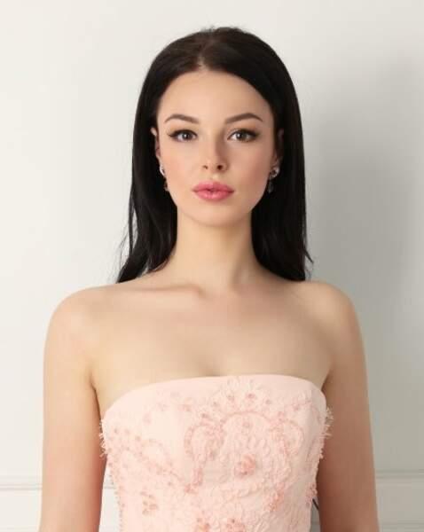 Miss Kazakstan : Yekaterina Dvoretskaya