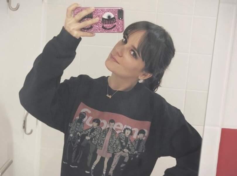 "Alizée Lyonnet et son selfie ""salle de bain"""