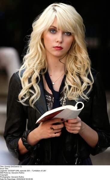 Pas fiable, un comportement capricieux…Taylor Momsen n'est pas revenue dans Gossip Girl