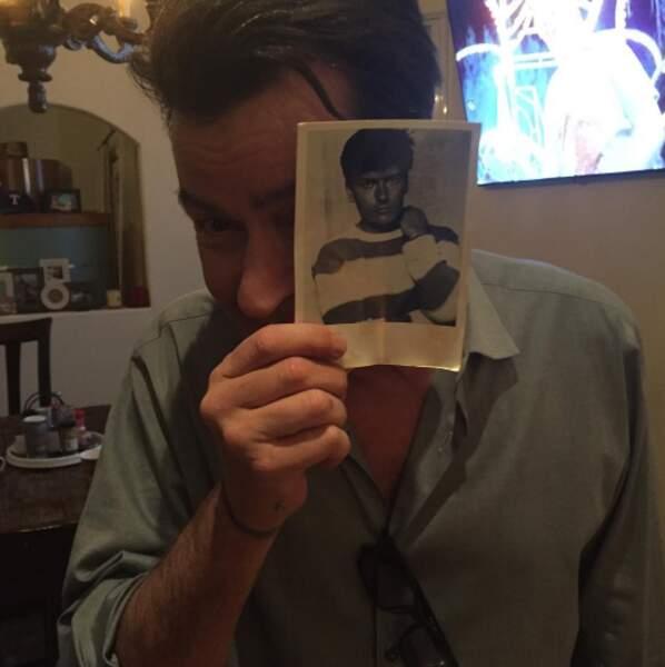Charlie Sheen s'est remémoré le bon vieux temps.