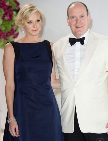 Le couple princier était présent pour le Gala de la Croix-Rouge monégasque.