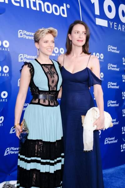 Scarlett Johansson et sa sœur Vanessa