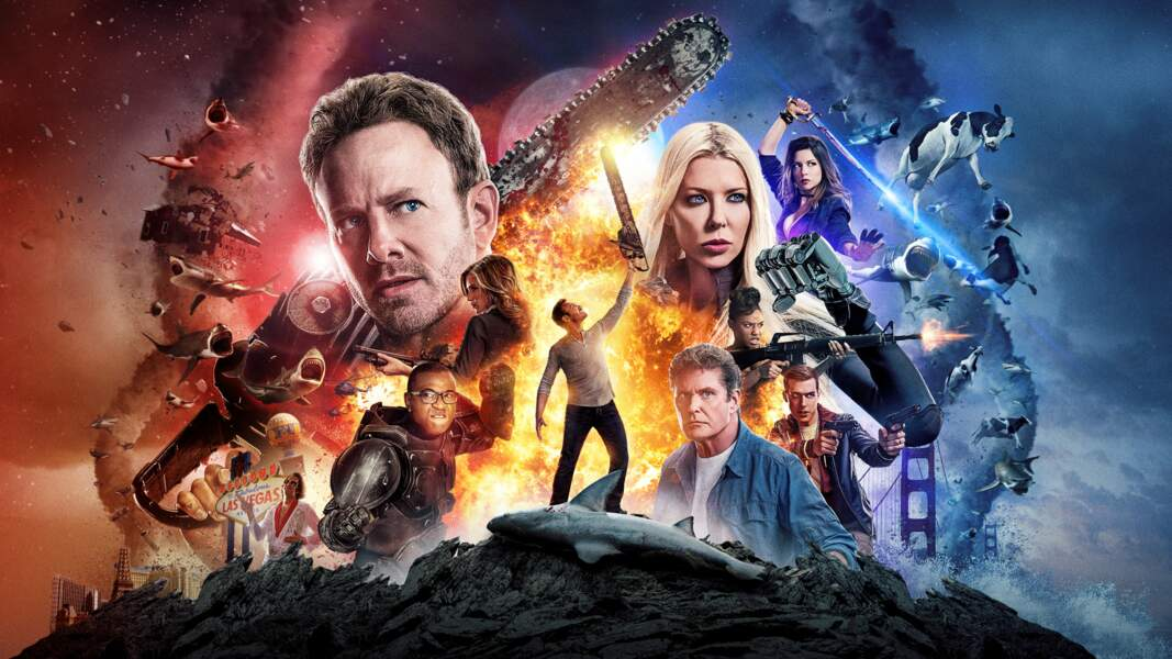 Sharknado 4 : The 4th Awakens s'amuse avec un titre en référence à Star Wars 7