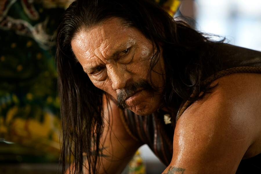Danny Trejo, visage buriné et inimitable Machete