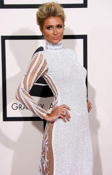 La riche héritière Paris Hilton, toujours présente pour les grandes occasions