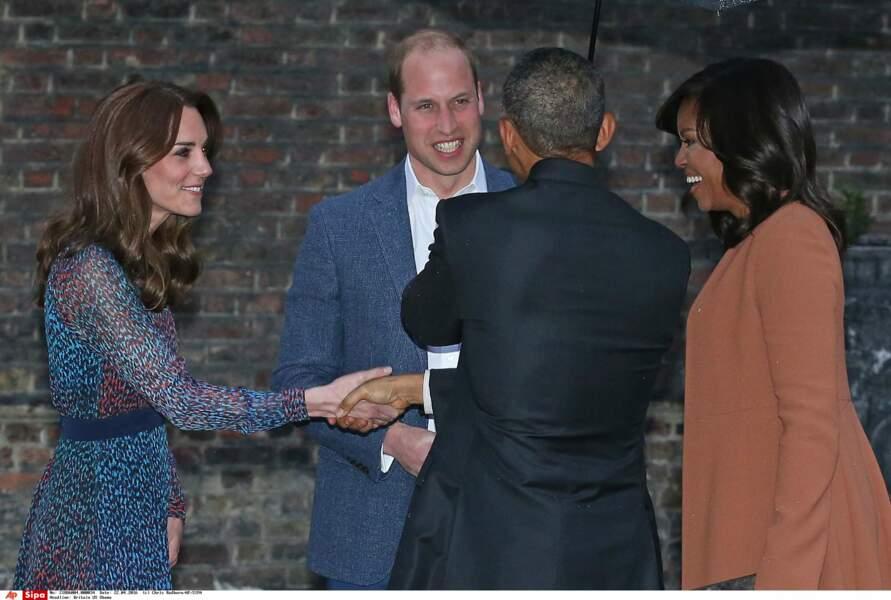 Si Barack Obama a serré la main de Kate Middleton…
