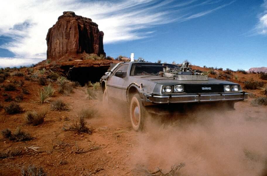 La mythique DeLorean de Retour vers le futur