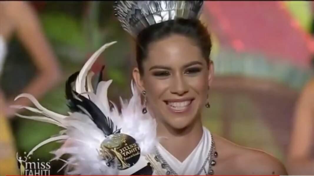 Matahari Bousquet, Miss Tahiti 2019 a été élue le vendredi 21 juin à Papeete