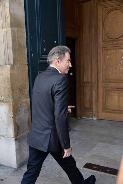 Michel Drucker était présent pour rendre hommage à Pierre Bellemare