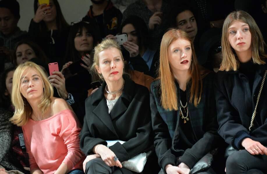 Emmanuelle Béart, Karin Viard et ses deux filles Marguerite et Simone
