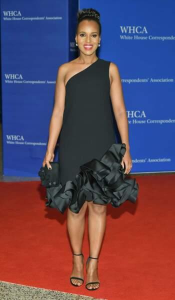 Kerry Washington, l'actrice vedette de la série Scandal