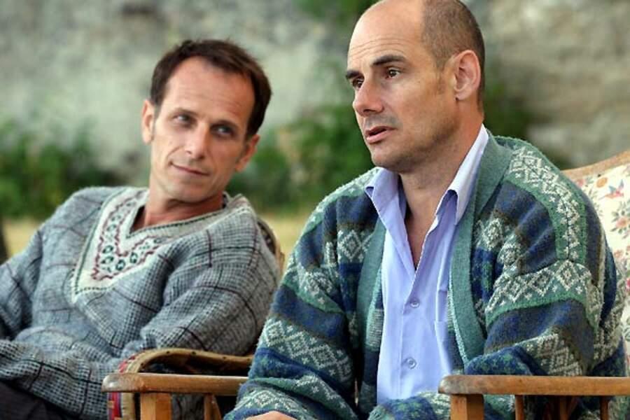 Charles Berling et Bernard Campan dans L'homme de sa vie (2006)