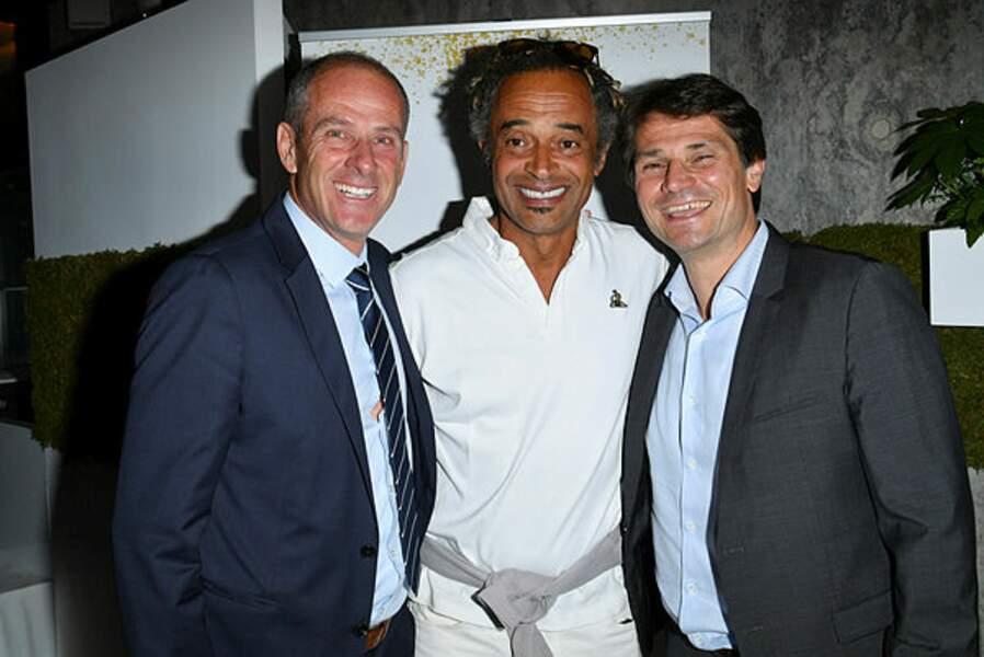 Guy Forget, Noah, Arnaud Boetsch... les people se sont ensuite retrouvés pour une soirée de gala à Roland-Garros !