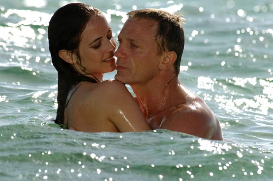 Daniel Craig et Eva Green comme des poissons dans l'eau dans Casino Royal