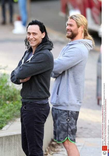 Actuellement en Australie pour le tournage de Thor 3 : Ragnarok, les acteurs sont très complices