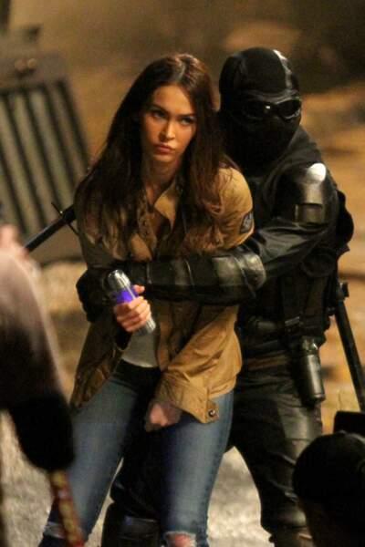 Megan Fox tourne la suite du film Ninja Turtles et semble en mauvaise posture