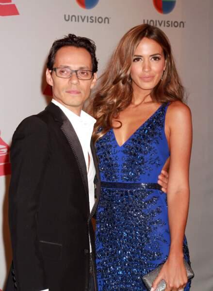 Le chanteur Marc Anthony et Shannon De Lima, mariés depuis 2014.