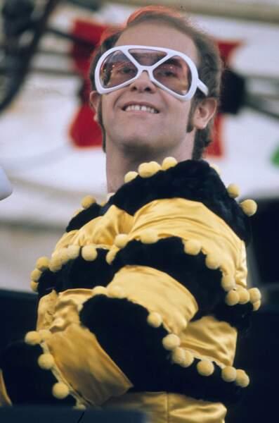 En concert à Watford en Grande-Bretagne, en mai 1974