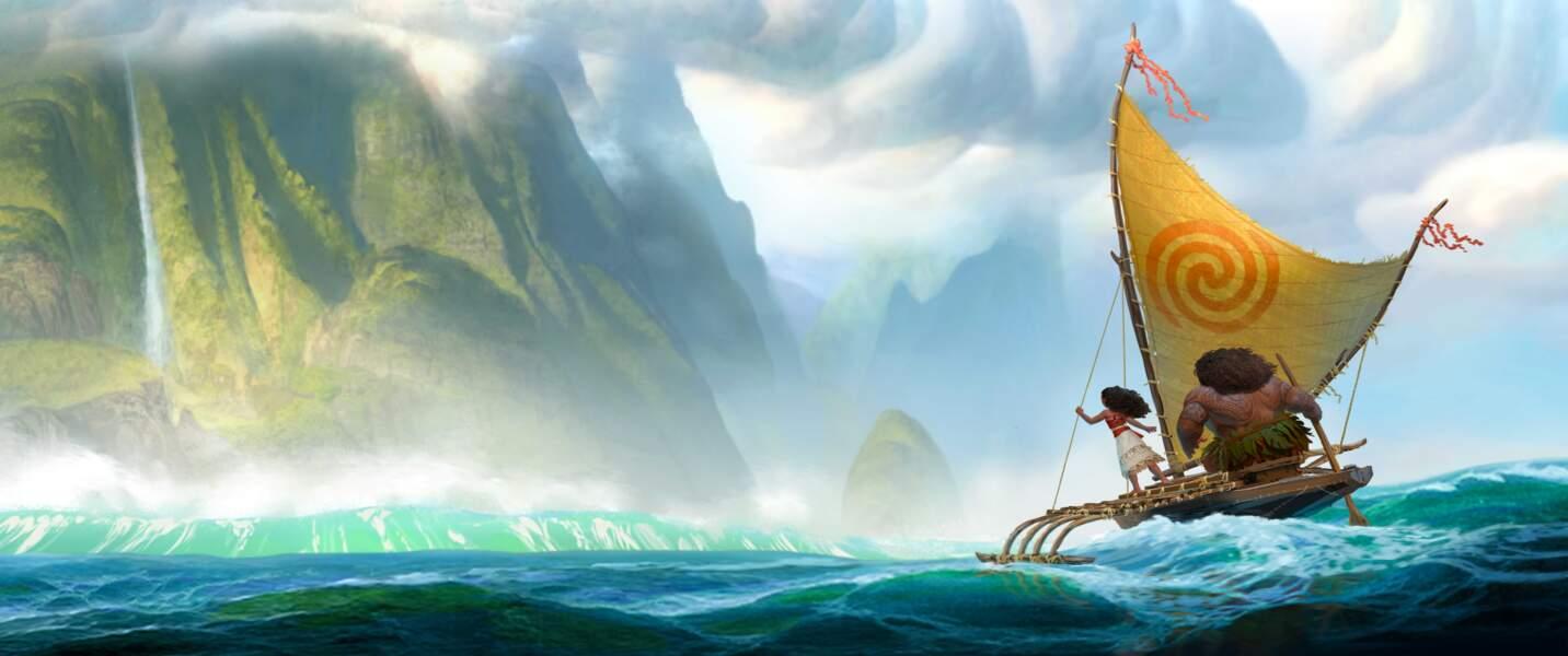Dans Vaiana, la jeune Moana est une navigatrice du Pacifique Sud qui tente de retrouver une île mystérieuse (30/11)