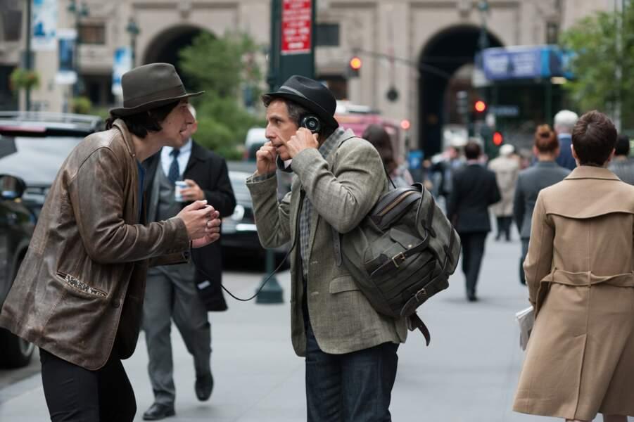 Aux côtés de Ben Stiller dans While We're Young