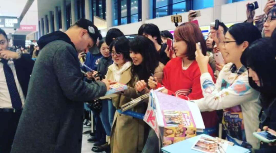 Au Japon aussi la série compte de nombreux fans