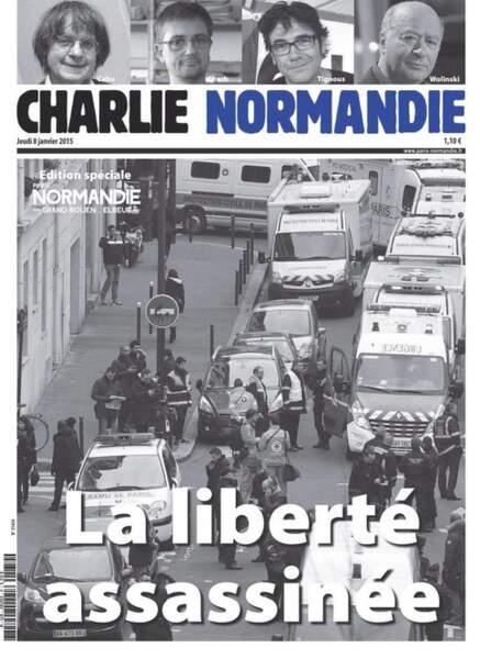 Paris Normandie, rebaptisé Charlie Normandie
