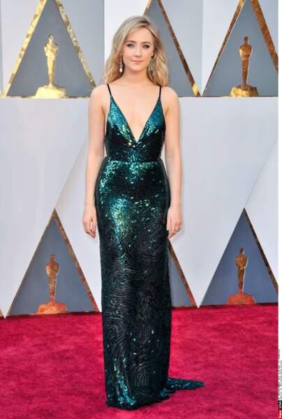 Voici Saoirse Ronan, actrice irlando-américaine.