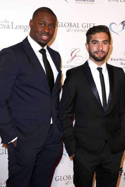 Kendji, gagnant de The Voice 2014, et Wesley, finaliste