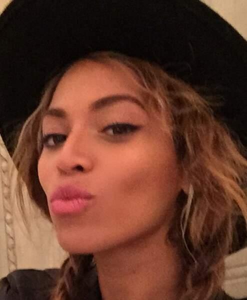 Beyoncé maquillée...