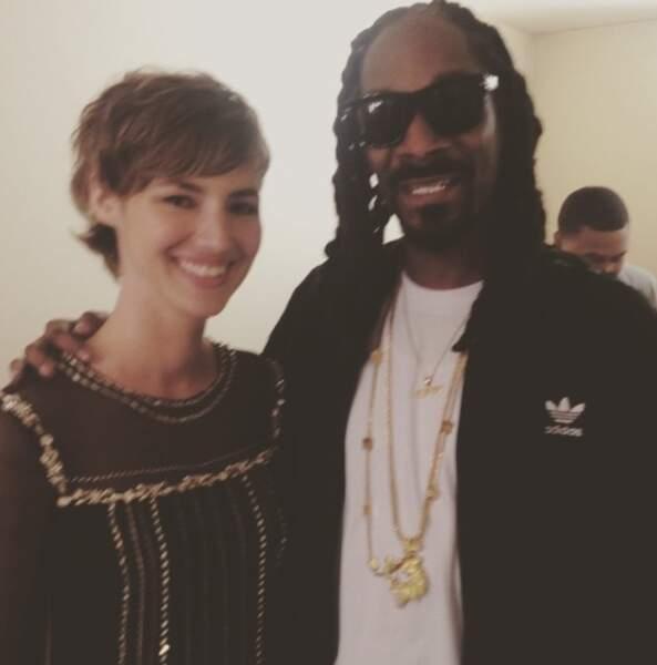 """""""Et oui, qui c'est qui est avec Snoop Dog ? C'est moi !"""""""