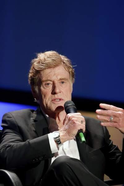 Robert Redford s'est lui rendu à l'UNESCO pour y faire un petit discours
