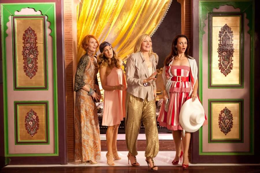 """Kristin Davis : """"Comment ça ma robe n'est pas raccord avec les copines ?"""""""