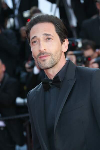Adrien Brody à la clôture du Festival de Cannes