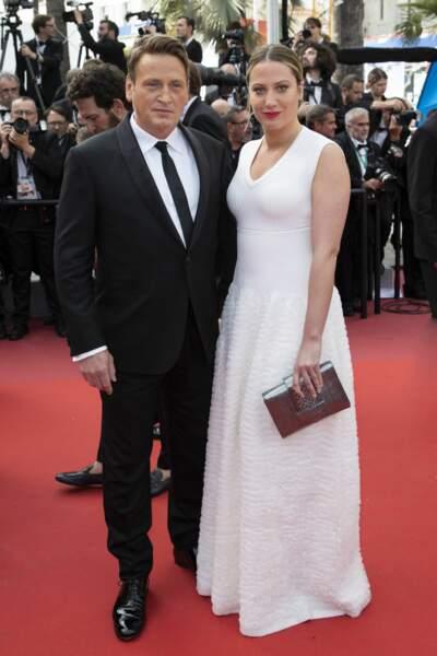 L'acteur Benoit Magimel en bonne compagnie