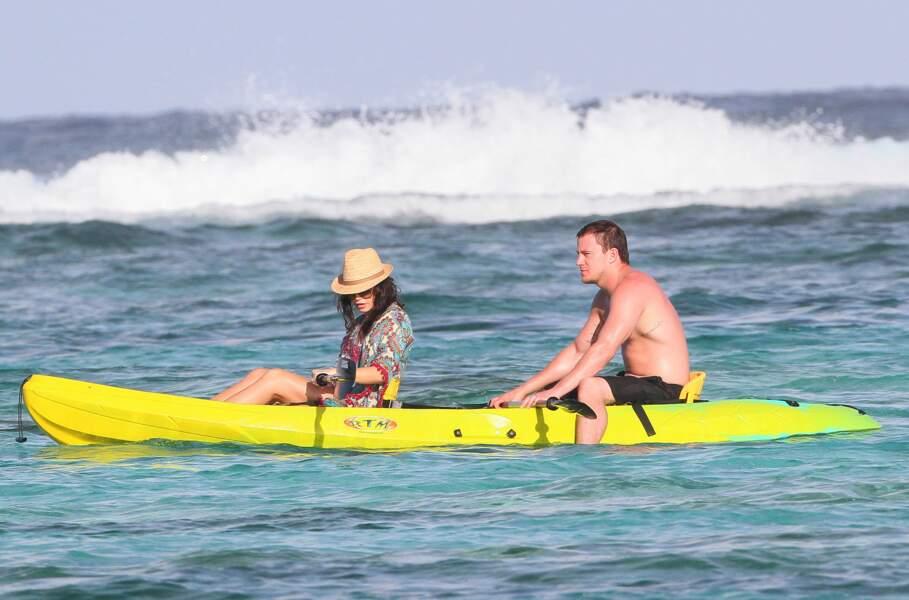 Idem pour Channing Tatum et sa femme Jenna Dewan.