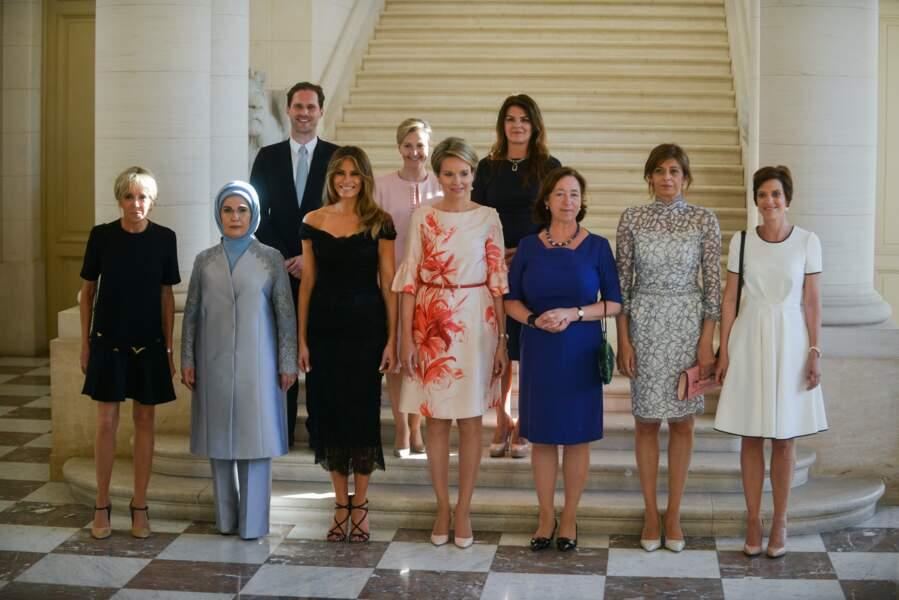 Mme Erdogan, Mme Radeva... La Première dame de France a rencontré ses homologues !