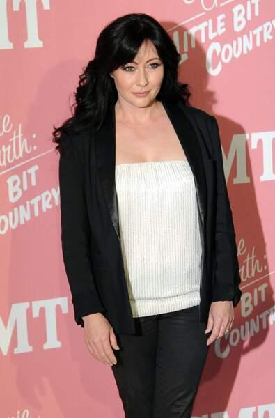 Shannen Doherty, 25 ans plus tard, lors de la soirée pour les 40 ans de Jennie Garth à Londres
