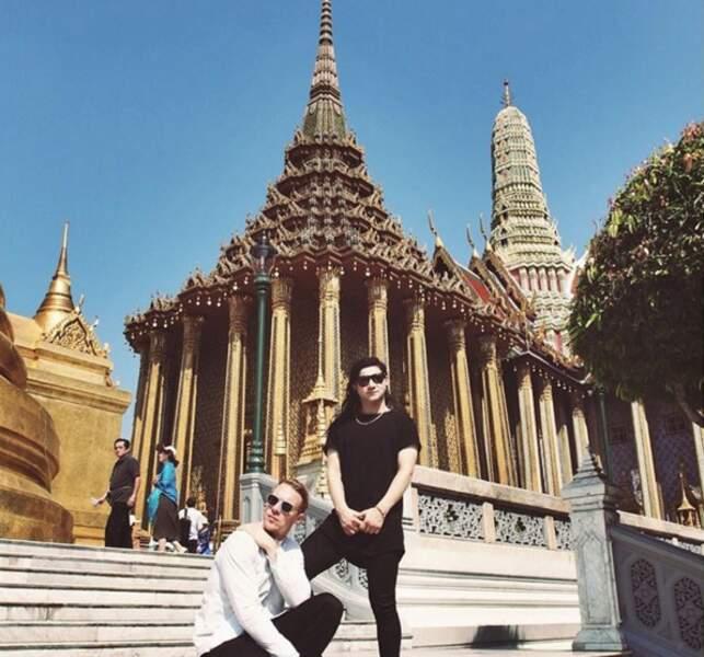 Le musicien Diplo en Asie