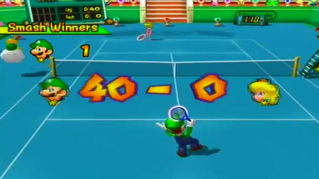 2005 - Mario Power Tennis (Gamecube, Gameboy Advance et Wii)