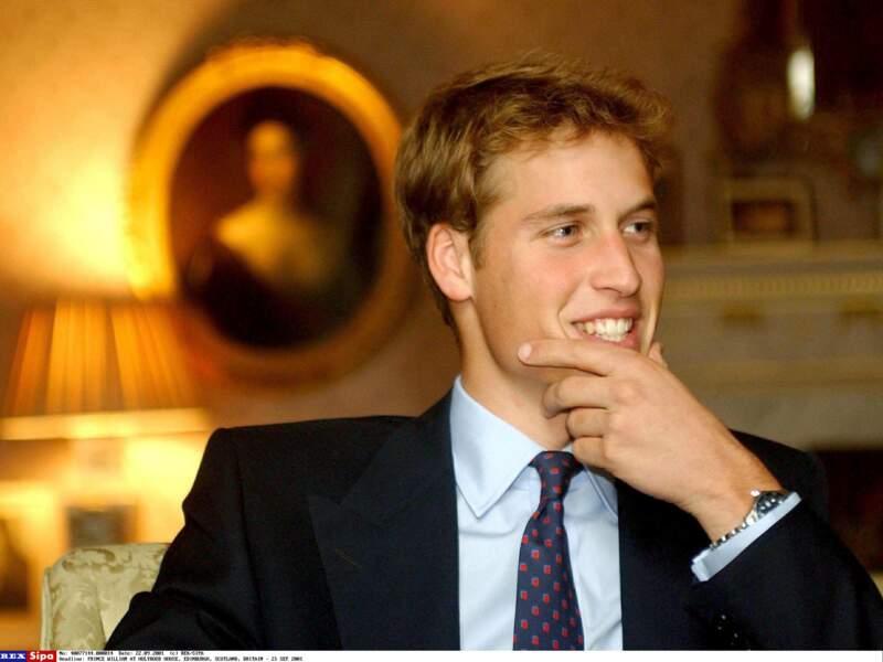 En 2001, le charmant prince William est le jeune homme le plus convoité d'Angleterre...